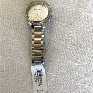 NWT Silver Michael Kors Watch